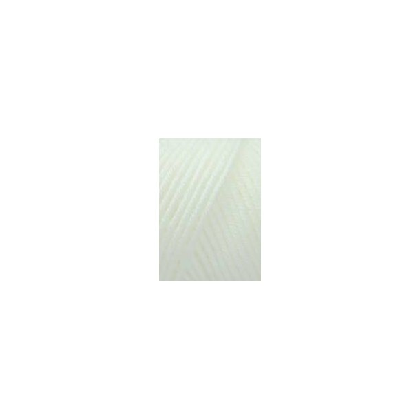 Merino 120: Hvid (001)